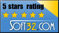 Soft32.com Five Star Rating